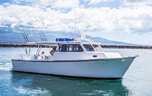 Marjorie Ann Maui fishing boat