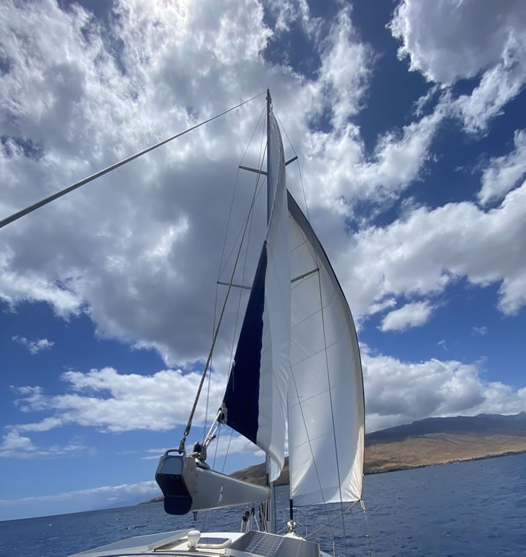 Maui Private Charter Sailing Catalina 42 MK2 MKII